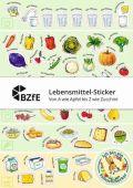 Lebensmittel-Sticker - Von A wie Apfel bis Z wie Zucchini