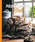 Mann backt Brot