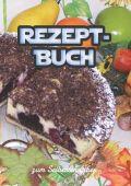 Rezeptbuch zum selberschreiben mit Register I Kochbuch I Backbuch I Platz für 125 Rezepte