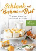 Schlank mit Kuchen und Brot