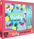 Tropical Party – das Backset mit Rezepten und Ananas- und Flamingo-Ausstecher aus Edelstahl – Limitierte Sonderausgabe